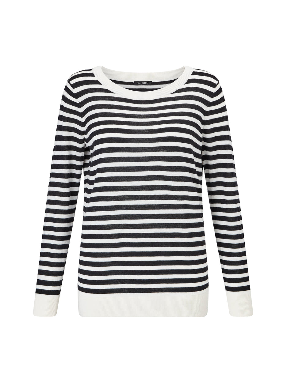 Susette Striped Knit