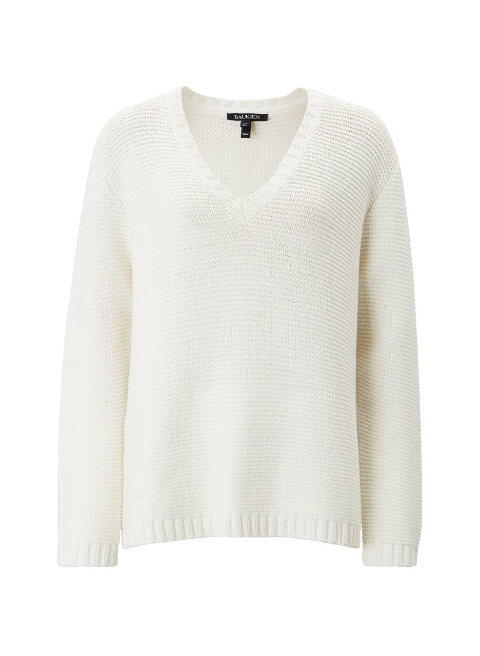 Florrie V-Neck Jumper