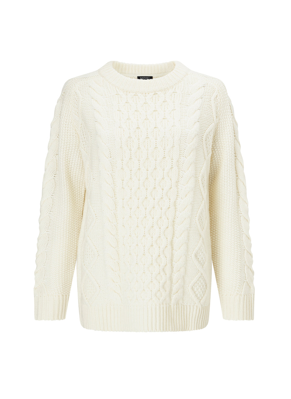 Camilla Cable Knit Jumper