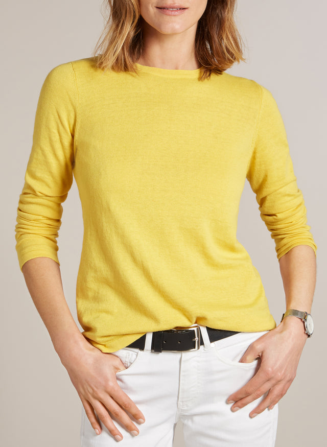 Briar Yellow Jumper