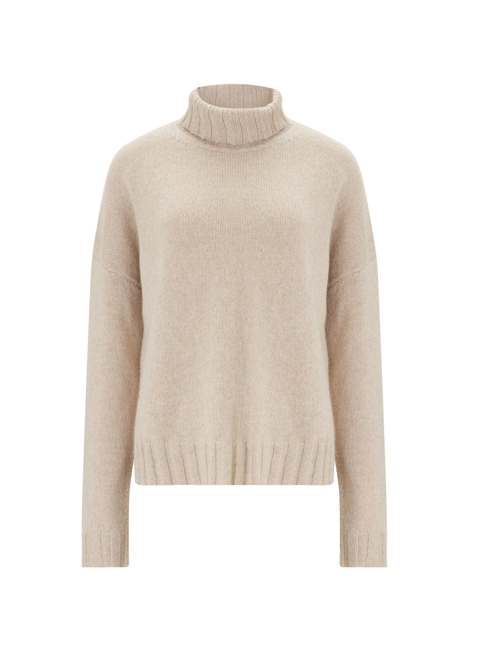 Darcy Eco Cashmere Roll Neck Jumper