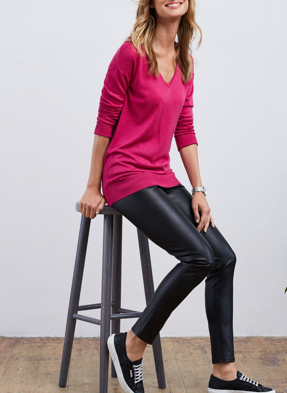Marion V-Neck Jumper