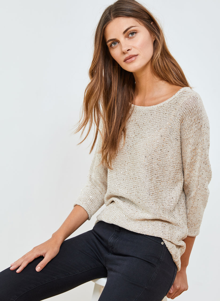 Emelina Sequin Jumper