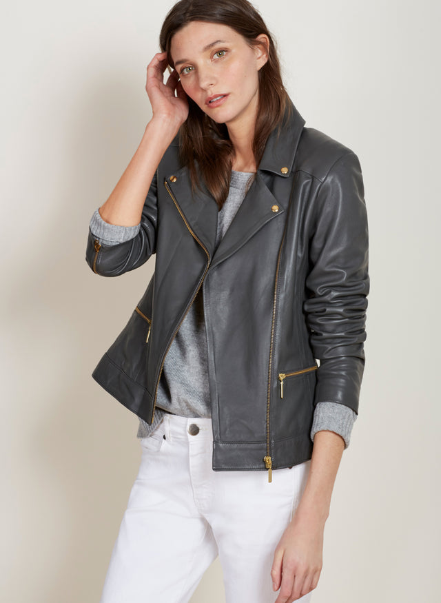 Kara Leather Jacket
