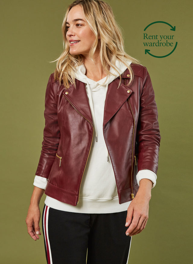 Kara Leather Jacket to Rent