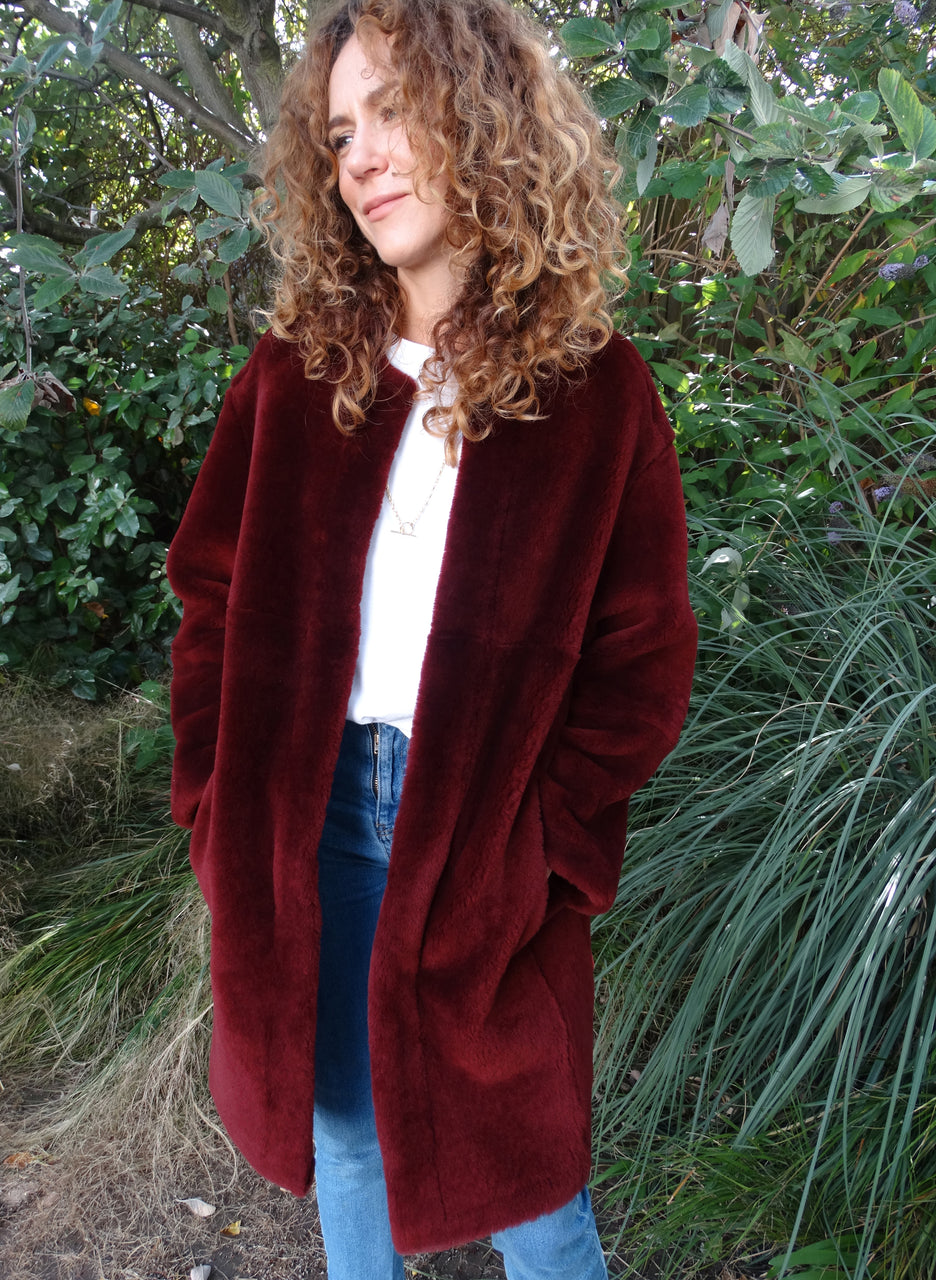 The Shearling Coat to Rent