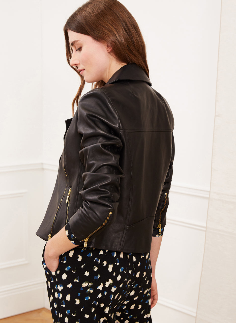 Everyday Leather Biker Jacket to Rent