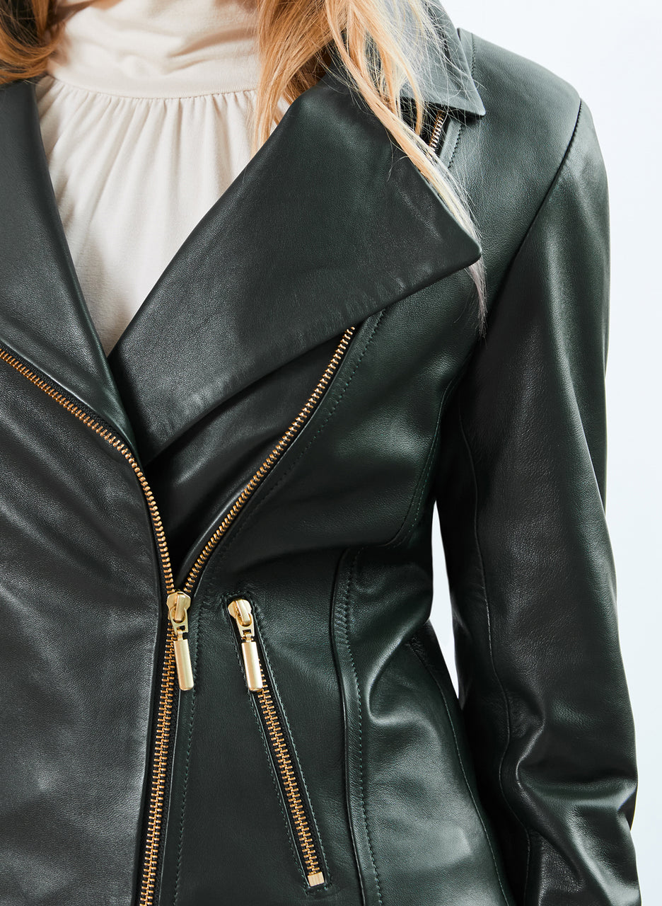 Everyday Leather Biker Jacket