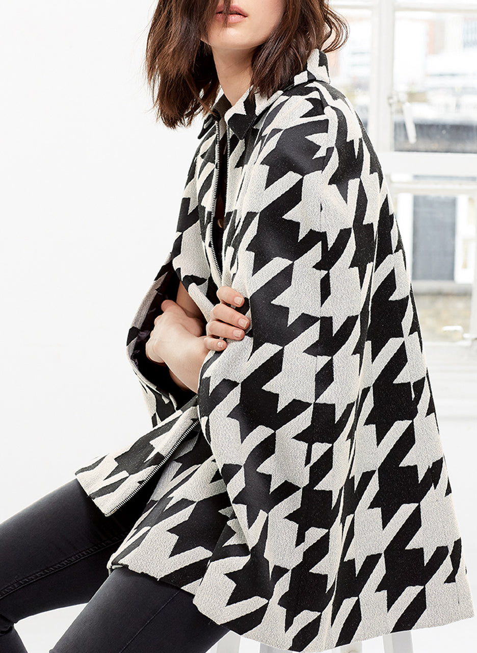 Whitmore Jacquard Cape