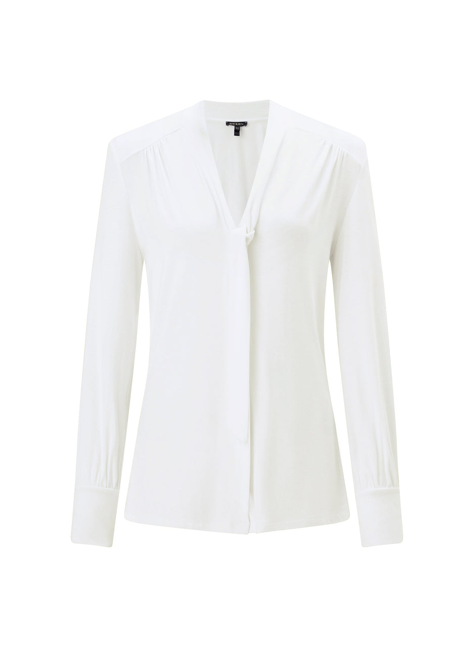 Eleanor Tie Blouse