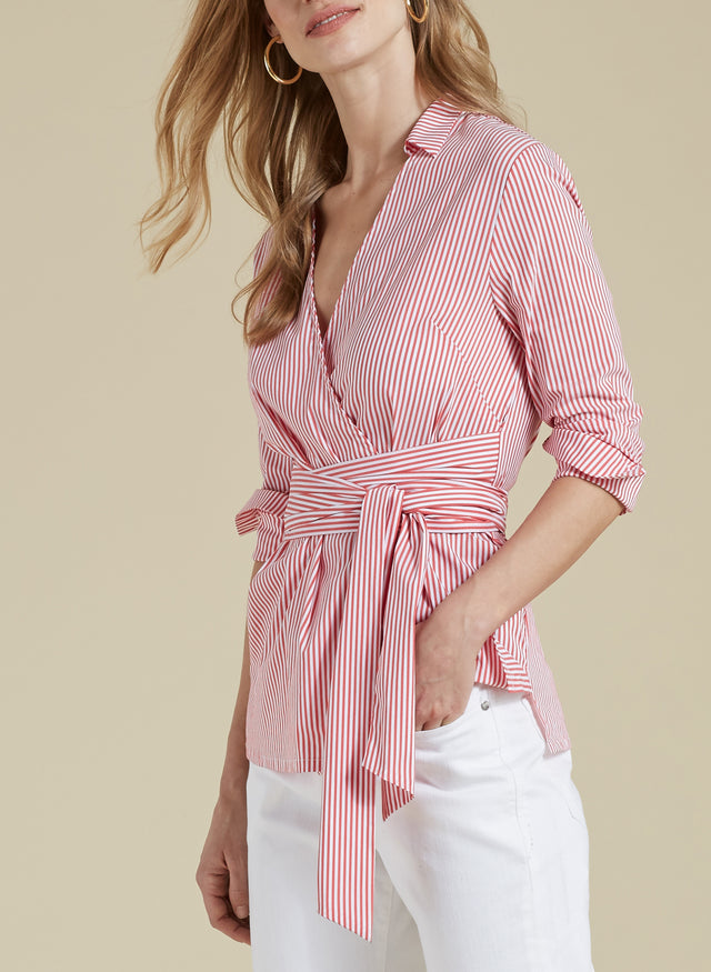Mattie Stripe Blouse