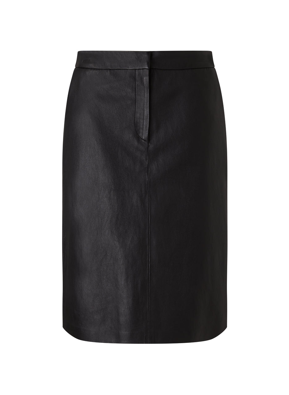 Lynn Leather Skirt