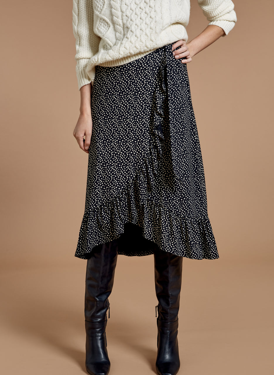 Martha Wrap Skirt