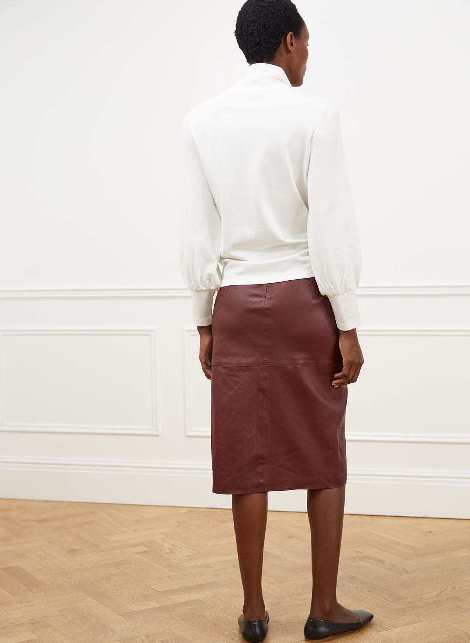 Carmen Leather Skirt