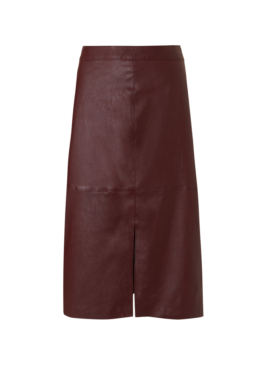 Carmen Leather Skirt to Rent