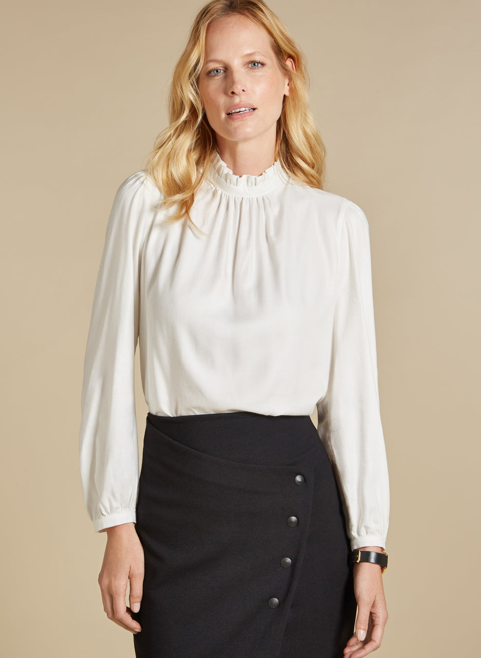 Claudine Blouse