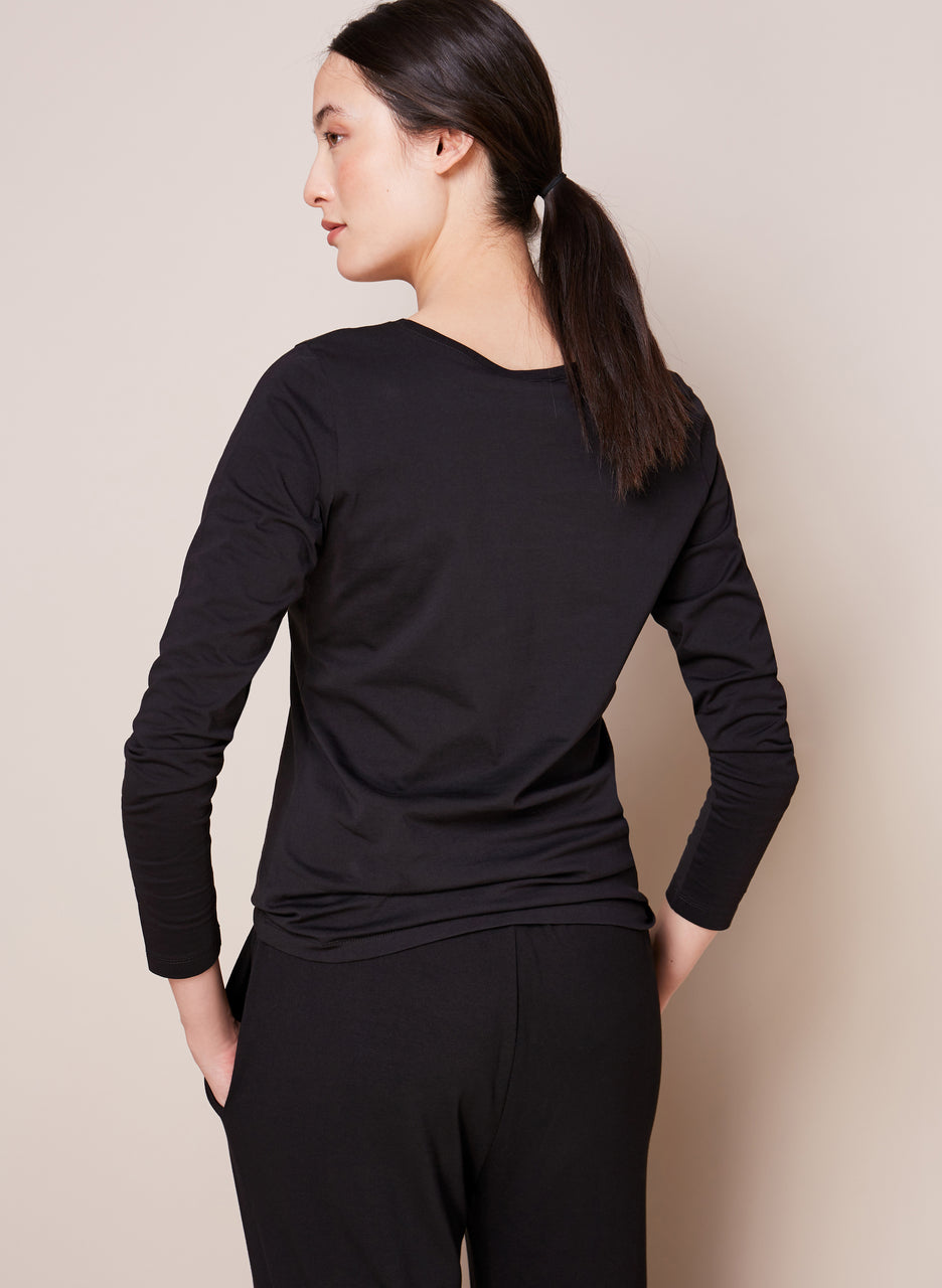 Baukjen Cotton Long Sleeve Top