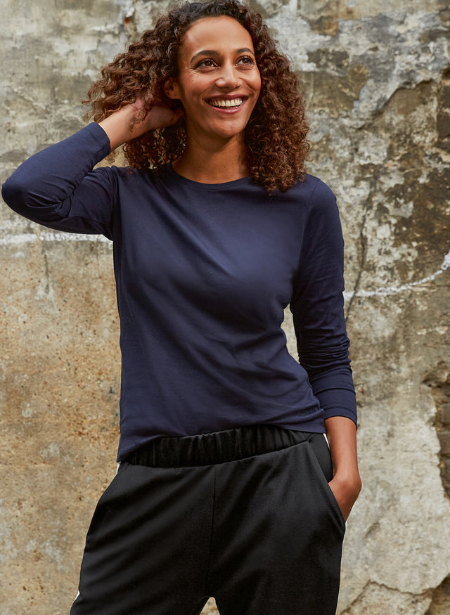 Baukjen Organic Cotton Long Sleeve Top
