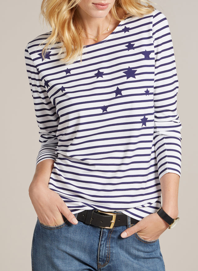 Bailey Striped Top