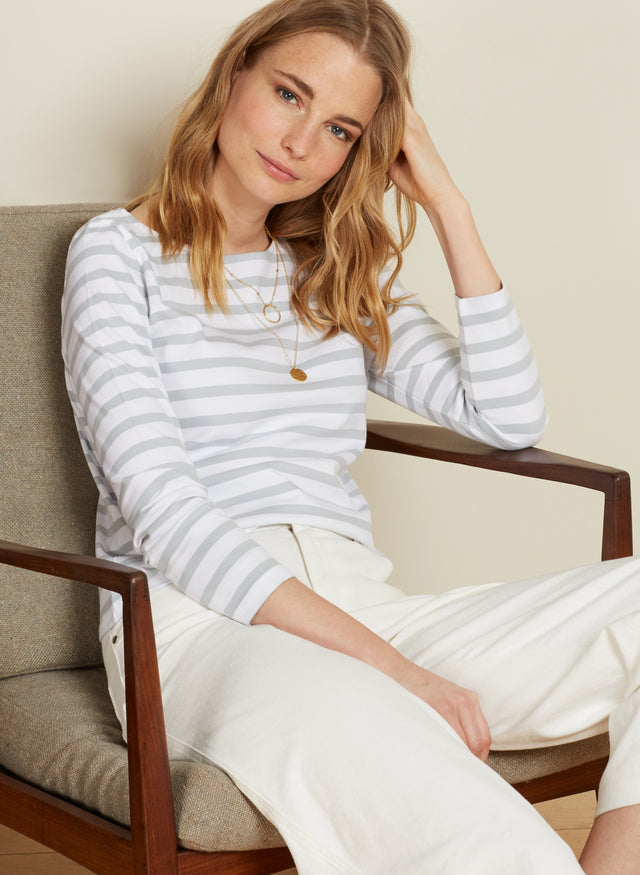 Emma Stripe Top