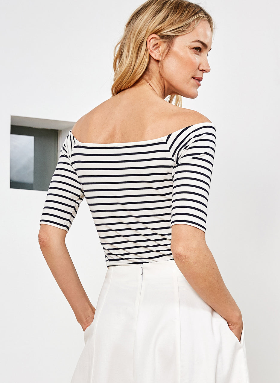 Mayson Boatneck Top