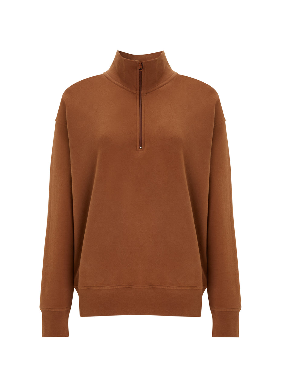 Brooklyn Organic Zip Sweatshirt