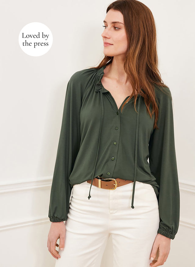 Neela Blouse with LENZING™ ECOVERO™