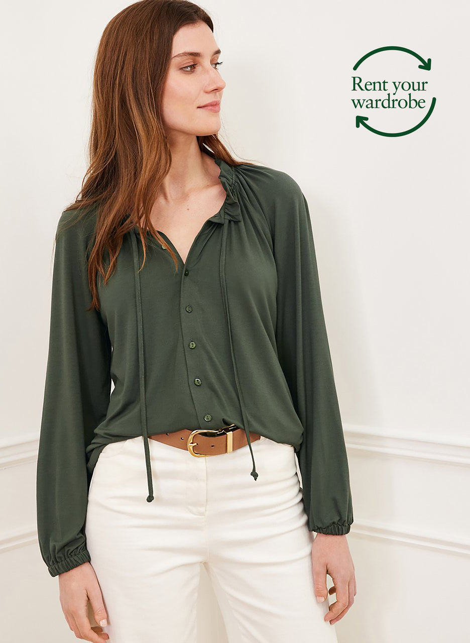 Neela Blouse with LENZING™ ECOVERO™ to Rent