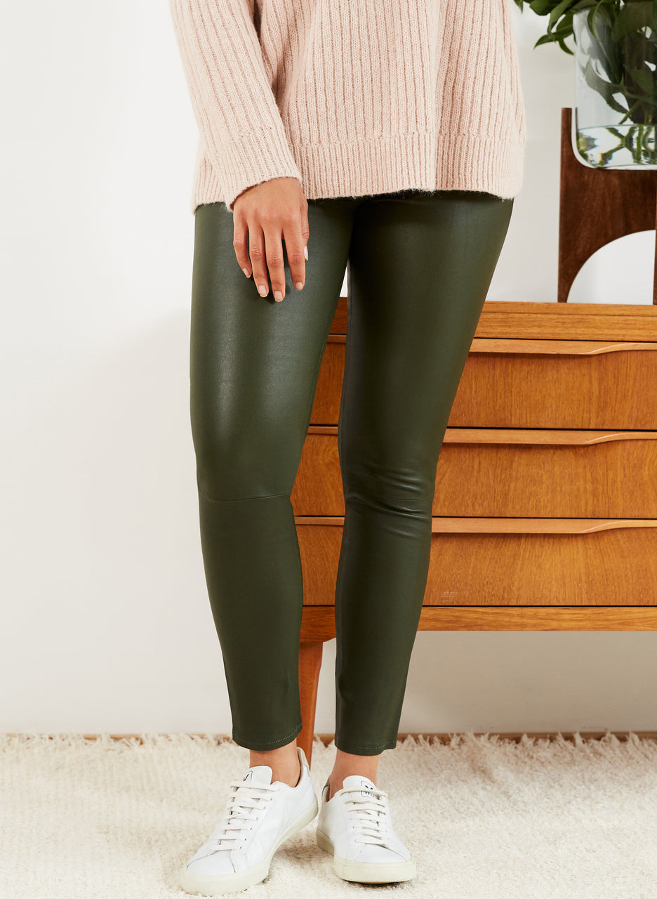 Lauren Leather Legging