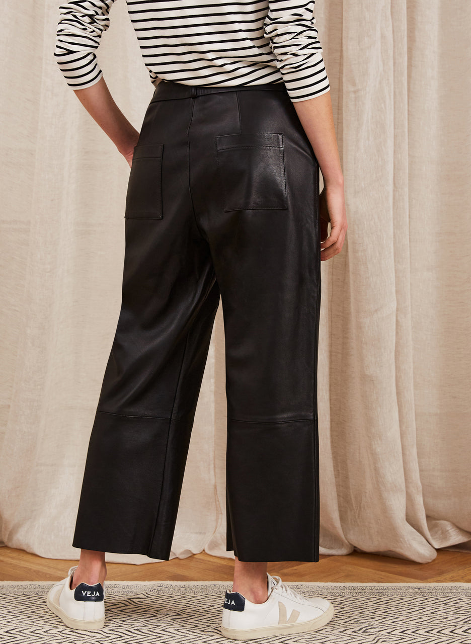 Sacha Leather Trousers