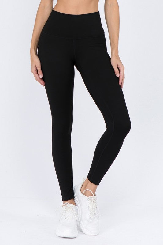 Ultra Soft Buttery Leggings - Black