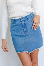 Load image into Gallery viewer, Kylie Denim Skirt