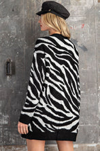 Load image into Gallery viewer, Zara Zebra Cardigan