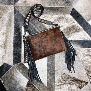 Dark Brown Genuine Leather Montana Bag