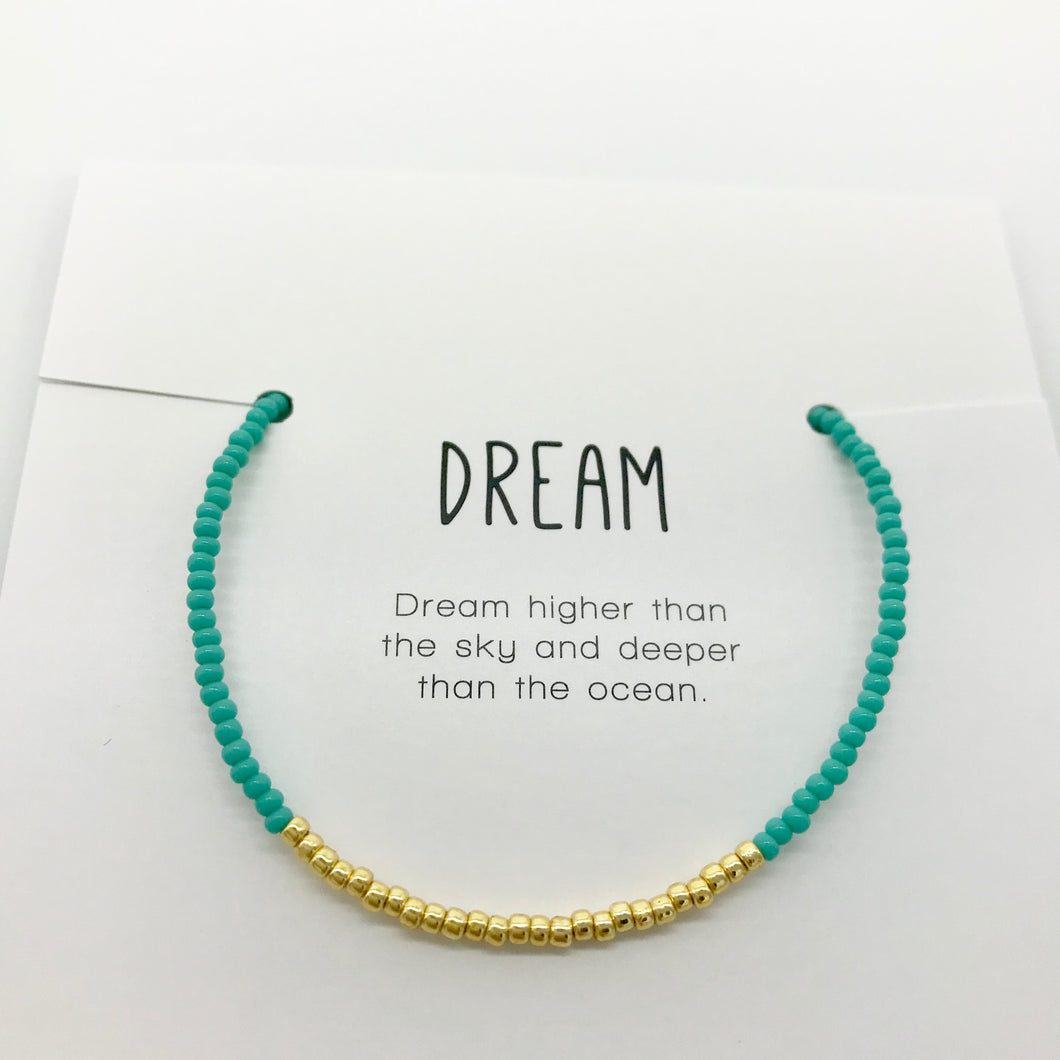 Dream Minimalist Bracelet