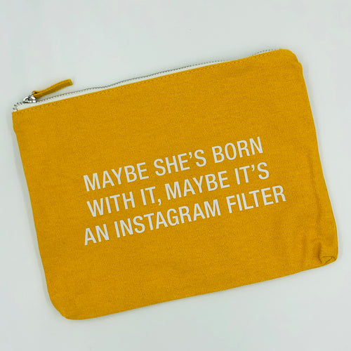 Instagram Filter Makeup Bag