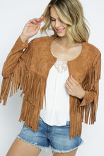 Load image into Gallery viewer, Western Fringe Jacket