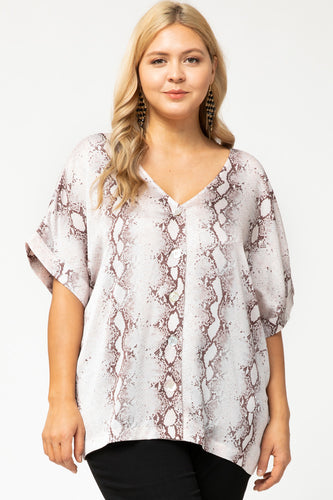 Plus Size Endless Thoughts Top