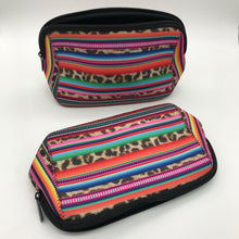 Load image into Gallery viewer, Serape Print Makeup Bag