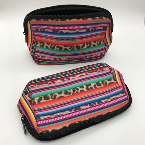 Serape Print Makeup Bag