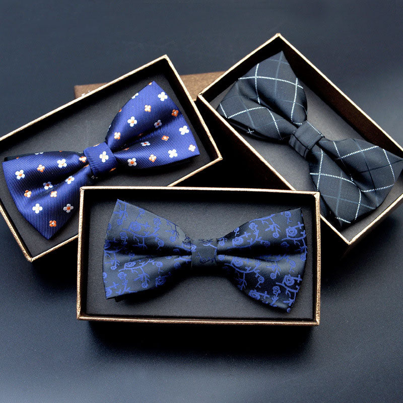 Adjustable Patterned Bow Ties