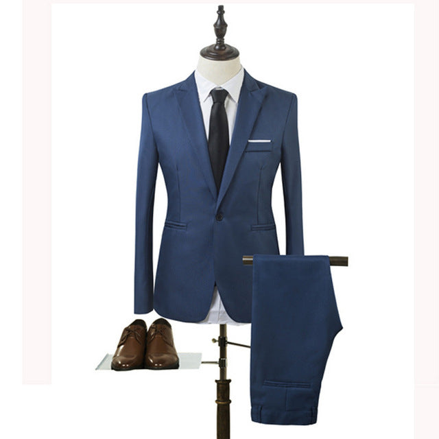 Slim Fit Chicago Suit