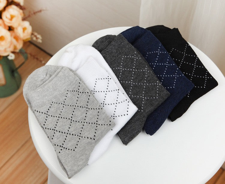 Classy Dress Socks - Pack of 5