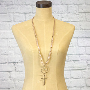 the devine cross necklace