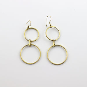 double o's earrings