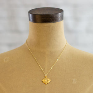 four point bee necklace