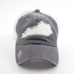 gray kentucky cap