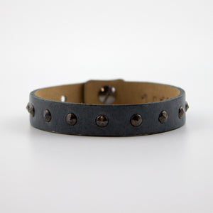 leather & rivets bracelet