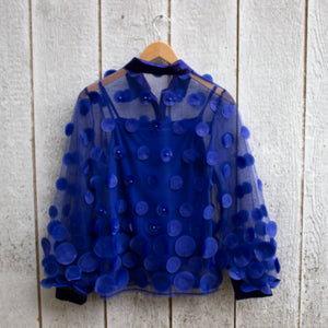 royal bubbles blouse