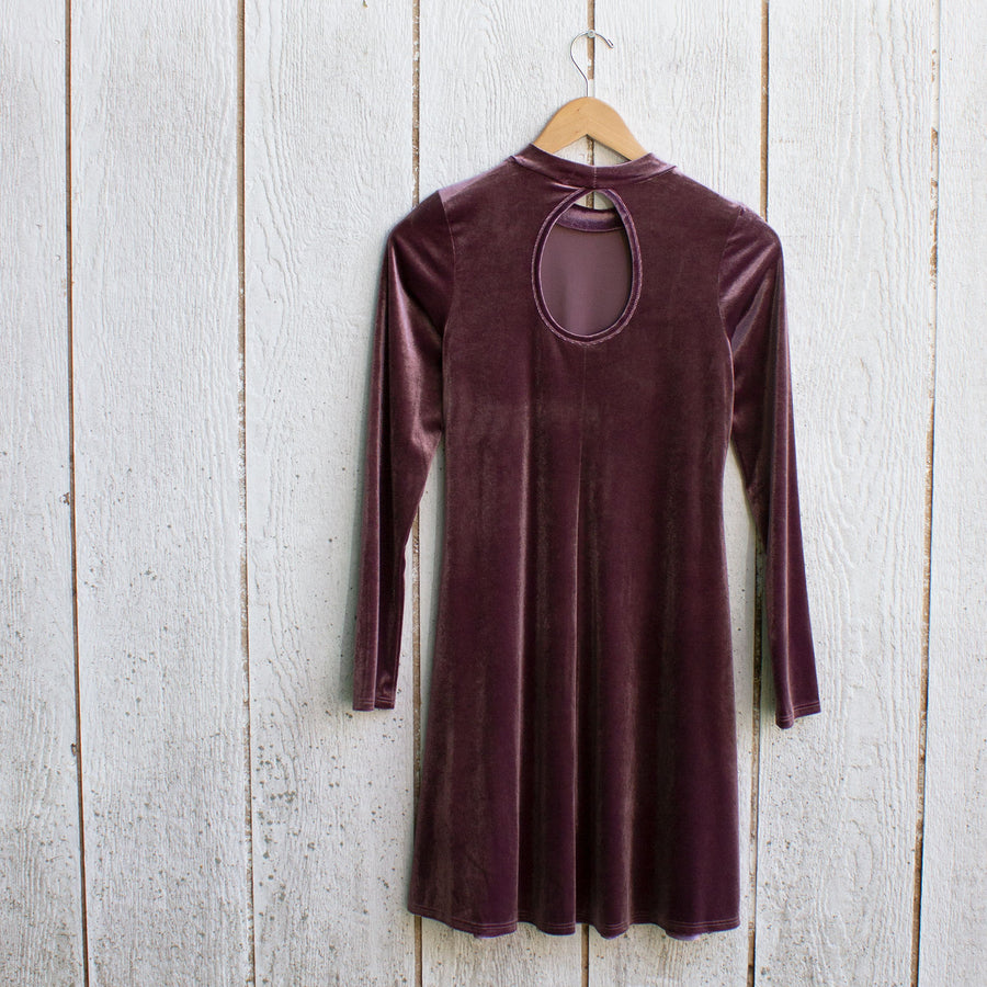 velvet fig swing dress